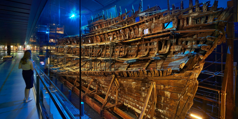 Image: The conservation of the 16th-century British warship, the Mary Rose, will include use of magnetic nanoparticles.
