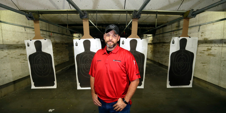 Image: Rowdy Reeve, owner of Rowdy's Range & Shooters Supply