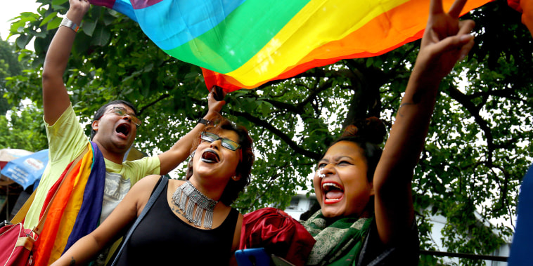 Image: LGBT celebratation in Kolkata