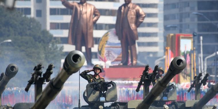 Image: North Korea National Day parade