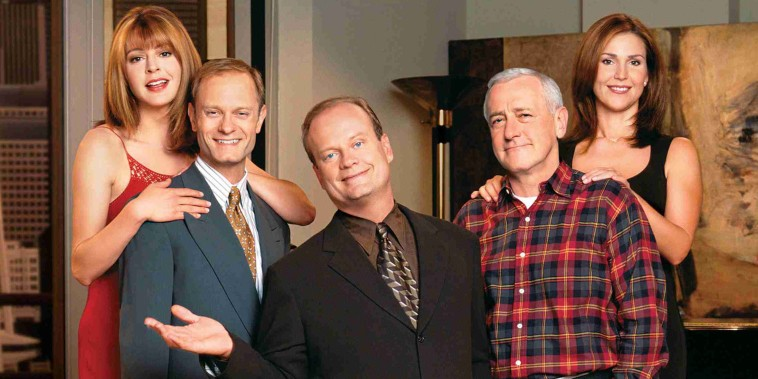 Image: TELEVISION COMEDY SERIES FRASIER FINALE TO BE TELECAST MAY 13