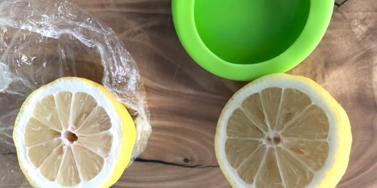 In our tests, the Food Huggers kept citrus from getting dried out better than plastic wrap.
