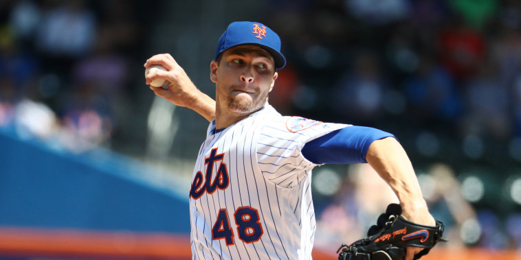 Image: Jacob deGrom of the New York Mets