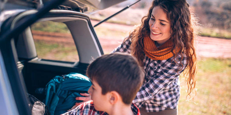 Image: Vacation Family Packing trunk