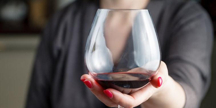 Image: red wine