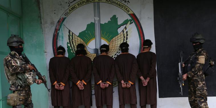 Image: Afghanistan Taliban arrest