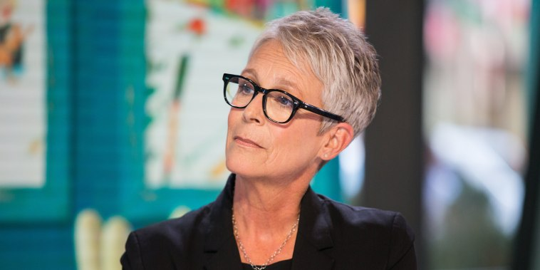 Image: Jamie Lee Curtis on Sept. 4, 2018 on the Today show.