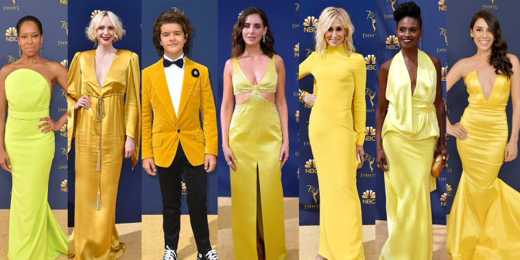 Emmy Awards fashion: Yellow