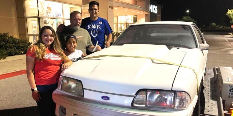 Family buys back dad's beloved car