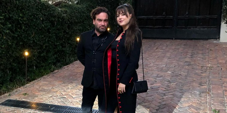 Johnny Galecki, Alaina Meyer