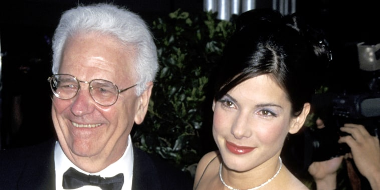 Sandra Bullock and father John Wilson Bullock