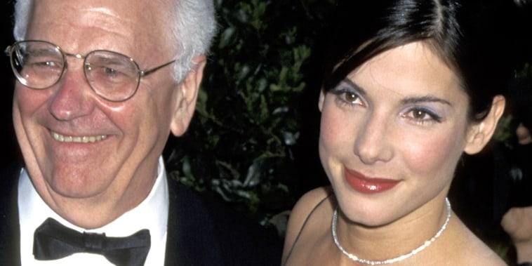 Sandra Bullock and father John Wilson Bullock