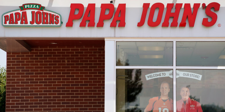 The Papa John's store in Westminster, Colorado