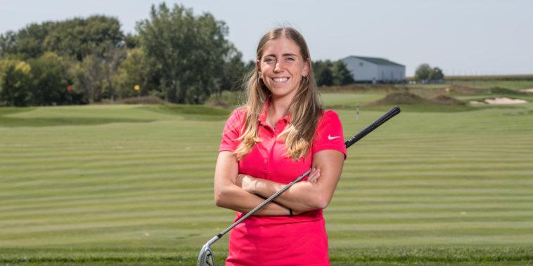 Golfer Celia Barquin-Arozamena