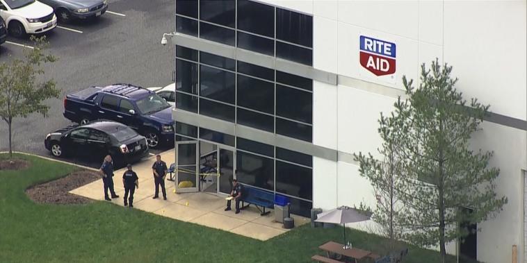 Image: Rite Aid facility shooting
