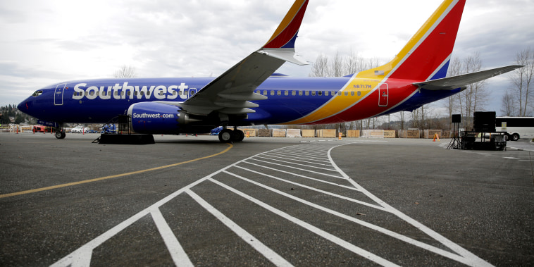 The 737 MAX 8 produced for Southwest Airlines in Renton, Washington on March 13, 2018.