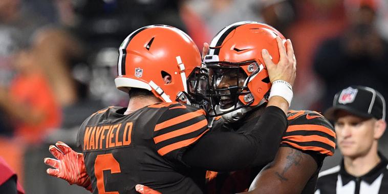 Image: New York Jets v Cleveland Browns