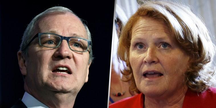 Rep. Kevin Cramer, R-N.D., and Sen. Heidi Heitkamp, D-N.D.
