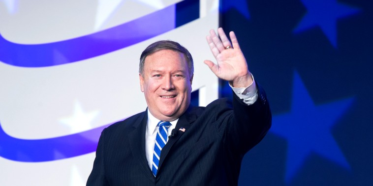 Image: US Secretary of State Mike Pompeo
