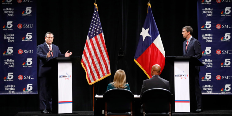 Image: Cruz, O'Rourke Debate