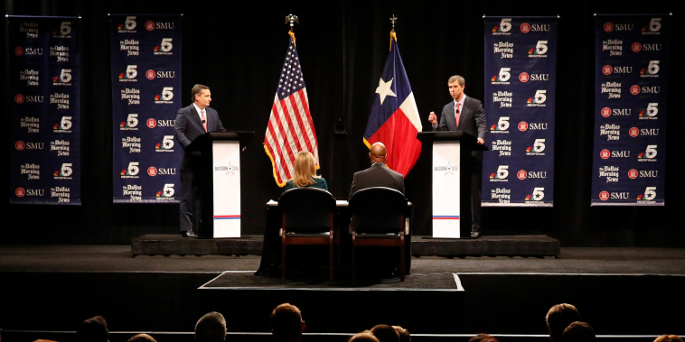 Image: Cruz O'Rourke debate