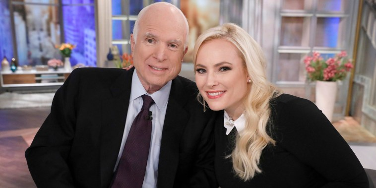 Meghan McCain honors father one month later