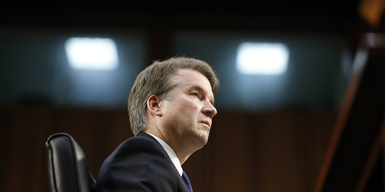 Image: Brett Kavanaugh during his Senate confirmation hearing