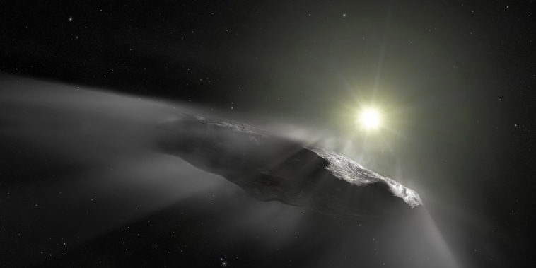 Interstellar objects like Oumuamua could be the source of life as we know it.