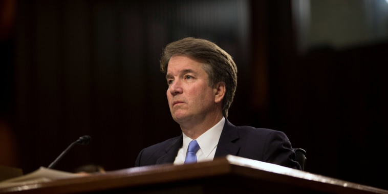 Image: Brett Kavanaugh testifies in Washington