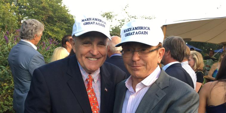 Image: Rudy Giuliani, Simon Kukes