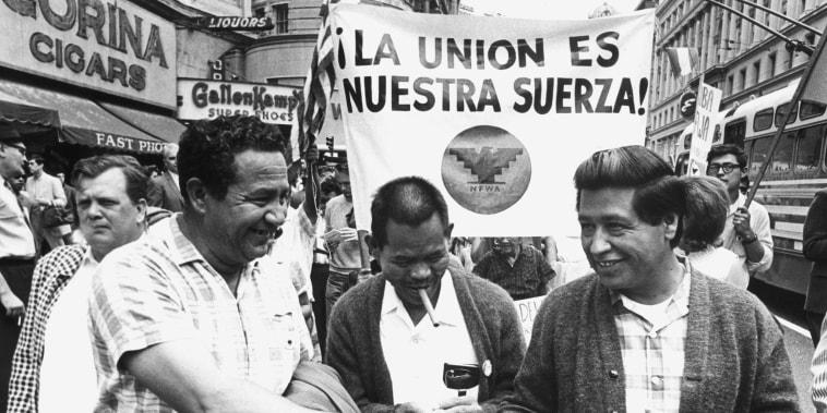 Image: Ceasar Chavez, Huelga March
