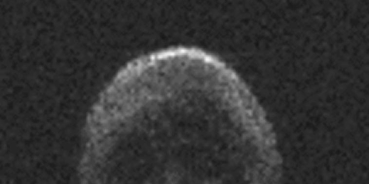 Asteroid 2015 TB145, a dead comet, bears an eerie resemblance to a skull.
