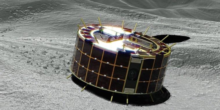 Image: Hayabusa-2 spacecraft dispatches asteroid probes - JAXA