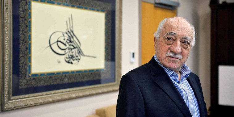 Image: U.S. based cleric Fethullah Gulen at his home in Saylorsburg, Pennsylvania