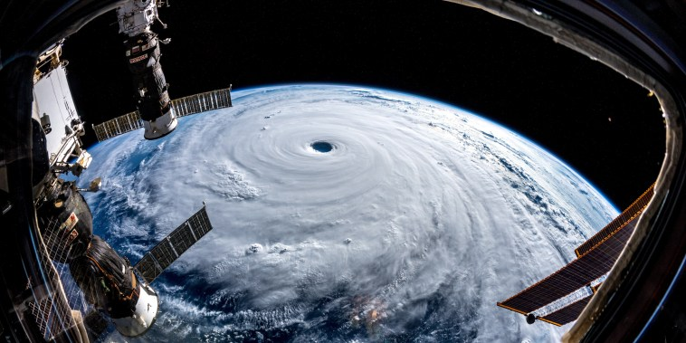 Image: Typhoon Trami seen from space