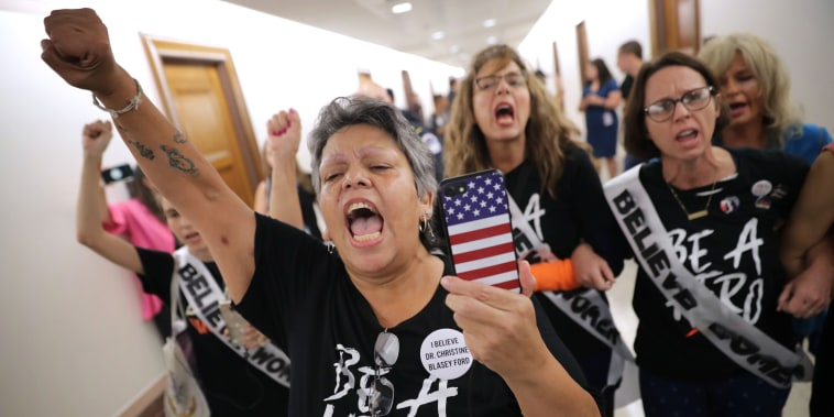 Image: BESTPIX - Politicians And Protestors React To New Kavanaugh Accusations On Capitol Hill
