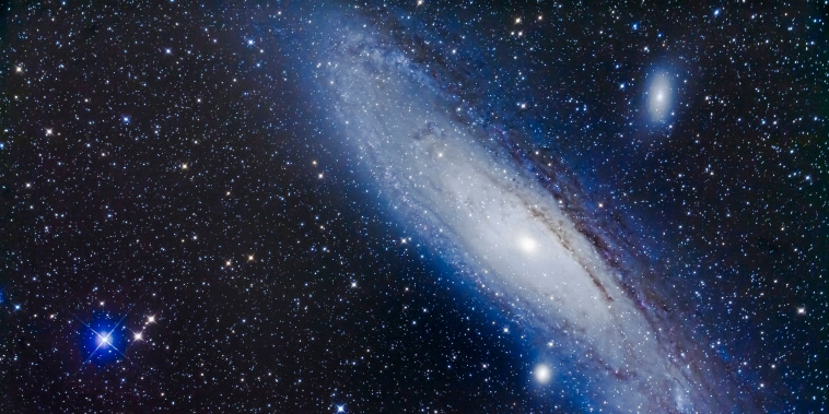 Possible signs of alien life haven't been spotted in the Andromeda Galaxy thus far — but that isn't stopping scientists from searching.