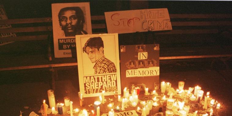 Image: Candlelight Vigil For Slain Gay Wyoming Student Matthew Shepard