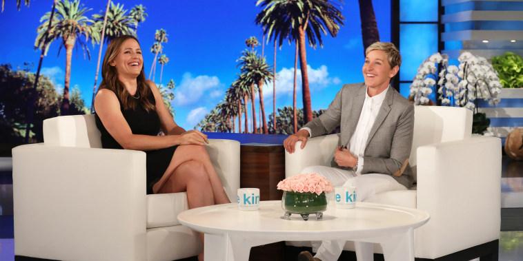 Jennifer Garner on Ellen