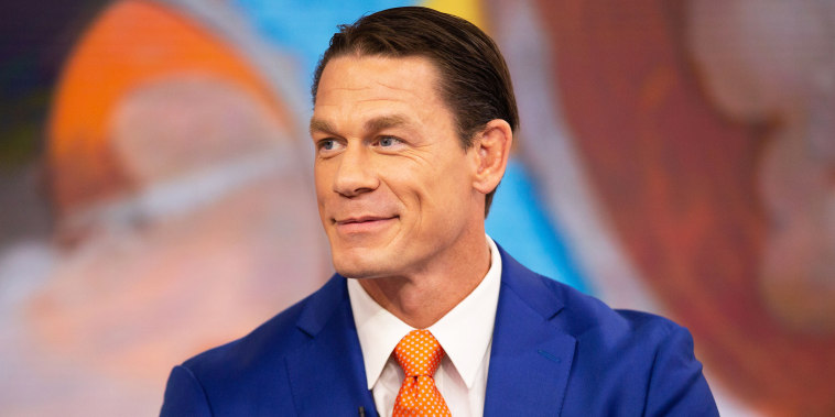 John Cena explained the reason for his controversial new hairstyle.