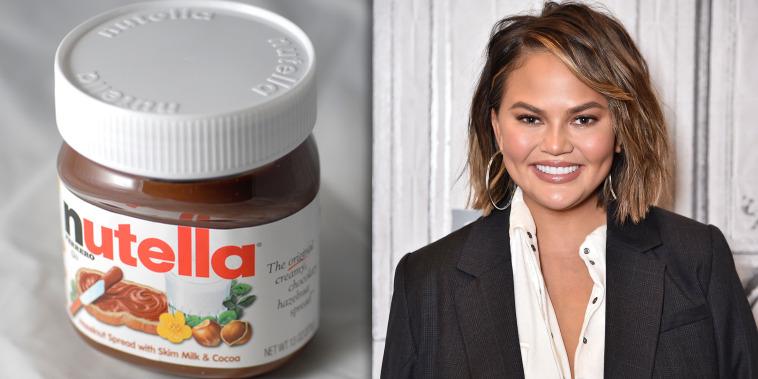 Chrissy Teigen Hates Nutella