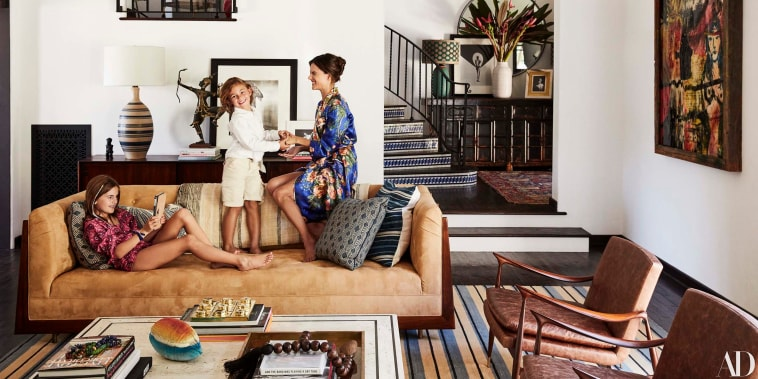See inside supermodel Alessandra Ambrosio's boho chic house