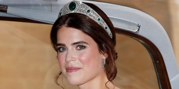 Princess Eugenie borrowed a gorgeous wedding tiara from Queen Elizabeth.