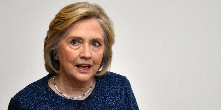 Image: Hillary Clinton Oxford University speech