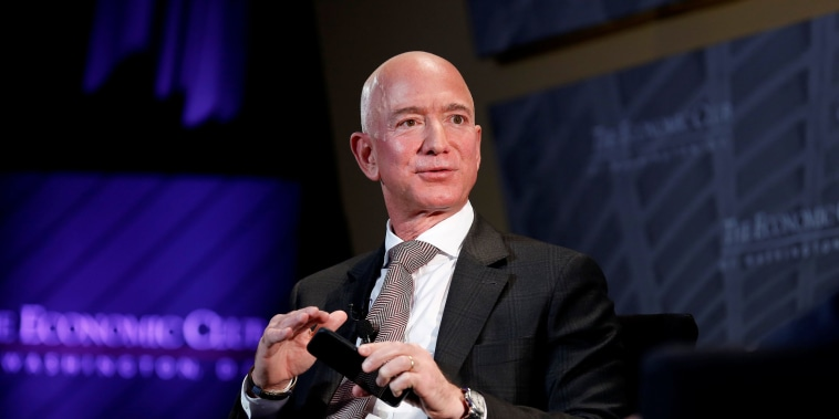Image: Jeff Bezos, president and CEO of Amazon and owner of The Washington Post