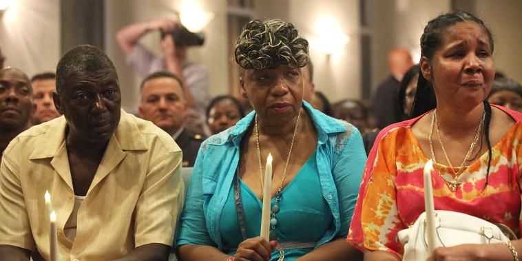 Image: Cardinal Dolan Holds Prayer Service Marking One-Year Anniversary Of Death Of Eric Garner