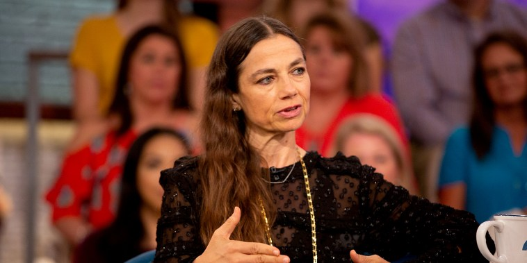 Justine Bateman on Megyn Kelly Today on Oct. 9, 2018.