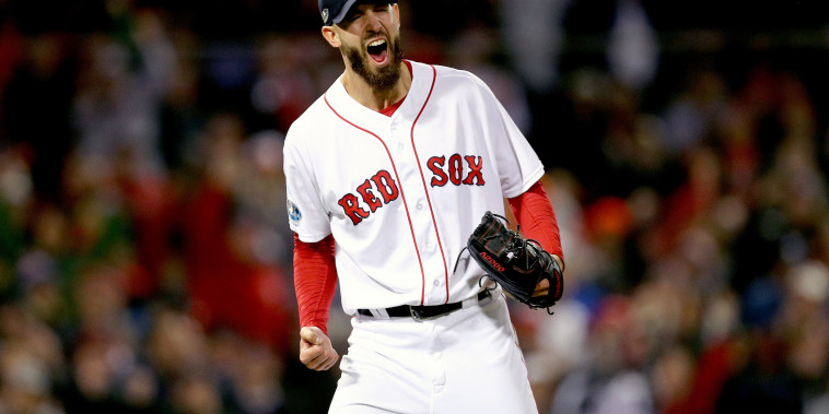 Image: League Championship Series - Houston Astros v Boston Red Sox - Game Two
