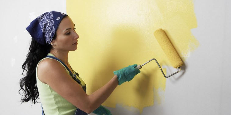 how to paint a room, how to paint a wall, painting techniques