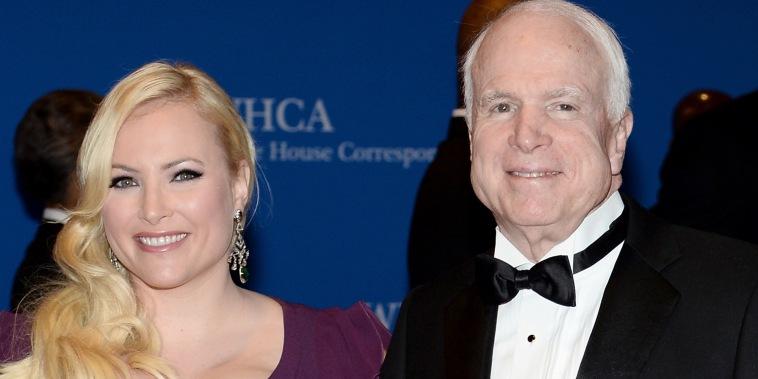 Meghan McCain and John McCain gravesite over the weekend